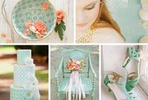 Pantone 2016 wedding colors /  What Pantone says, the fashion world does. So if you're planning a Spring 2016 wedding, you will want to know what colours Pantone has chosen, because these are the hues and shades that are likely to fill the shops.