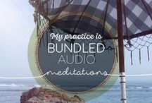 Audio Meditations / Allow these guided meditations to support you on your journey of mindfulness, meditation & mala beads!