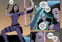 Cosplay Ideas - Izzy / Kate Bishop and Gamora cosplay concepts. / by Jeanatte Salazar | Mrs. Mosh