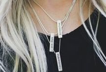 Silver / Bali has always been our second home. It's where we find calm, adventure & moments of meditation. It's also where we created our new sterling silver sanskrit mantra and pendant necklaces.