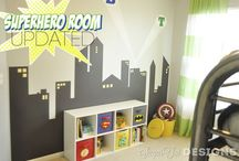 Ideas for boys room / by Telisa Van Leeuwen