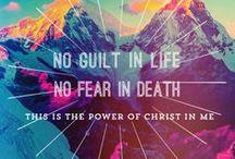 faith. / God, hope, faith and love