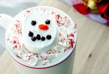 Christmas / Christmas:Christmas Recipes, Treats, Home and Tree Decoration ideas and more! Snowflakes, snowmen, Santa Claus, elves and more!