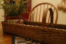 1803 Ohio Farm Baskets / Basket that I have made, found on Etsy at 1803 Ohio Farm Baskets / by Ann Frank