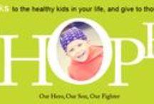 childhood cancer. / our son is a leukemia cancer survivor.