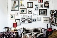 spacecollecting // gallery wall / by Shafina Sheridan