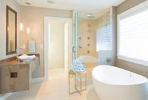 LivinInSD-Bath Spaces / Some of the most stunning master baths that anyone would love to spend time in.