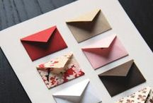 Cards, Invites & Gift Wrapping / Ideas to try.