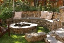 Outdoor Ideas / Outdoor Idea's: This Summer take that boring backyard and turn it into a Cooking Retreat, Campfire having, Family Friendly space! Add backyard seating, patio furniture, play areas and more with these outdoor space ideas.
