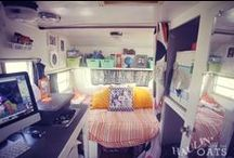 camper love. / vintage campers and camper renovations
