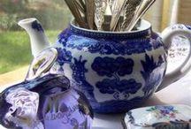 parties: Vintage tea ideas