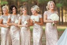 Bridesmaids and Wedding Parties / All about bridesmaids, flower girls and wedding parties!