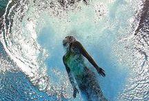 Deep * Blue * Swimming / uma homenagem ao Oceano