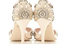 EMMY LONDON / Emmy London Wedding Shoes, available at The Blushing Bird in Los Angeles and online theblushingbird.com