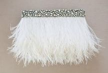 BIRD Bags / Bridal clutches for your wedding day essentials