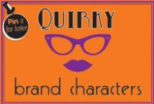 Quirky brand characters