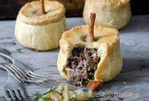 Food ~ Savory Pies, Tarts, & Tartinades / by Kathleen Shierk