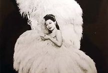 Burlesque | Showgirl Feathers / Burlesque and Showgirl dancers | feather fans | feather costumes | feather headdresses.