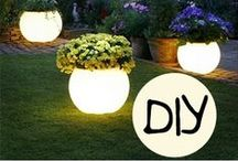 DIY Projects & Crafts / Do it yourself projects and crafts - big and small. Outdoor, backyard projects, interior design, craft projects and more.  / by Ashley Swindell