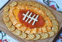 Football Food / Football-themed food ideas for your WVU tailgate or watch party. Let's Go Mountaineers! / by WVU - West Virginia University