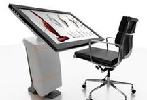 Ergonomic Touch Screen Workstations