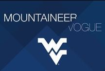 Mountaineer Vogue / WVU products featured in the Fall Family Weekend Mountaineer Vogue fashion show / by WVU - West Virginia University