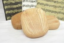 Wood Spirit Shakers Handcrafted by Earnest Efforts / wooden music shakers, wood rattle, music instrument, meditation tool, shaman rattle, pagan altar, shamanic journey,