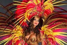 Carnival Feathers | Costumes / Carnival feathers, headdresses, costumes, masks, Mardi Gras, Trinidad, Rio, Italy, France, New Orleans.