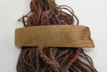 Wood Hair Barrettes by Earnest Efforts / Earnest Efforts natural wood hair barrettes with a LIFETIME GUARANTEE made with FRENCH HAIR CLIPS and NO GLUE.  We use wood screws to attach the clips and guarantee our work for our lifetime :-)