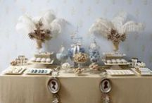Feather Wedding Decor / Decorating with feathers for wedding events | Feather Center Pieces | Feather Chairs | Feather Table Tops | Feather Gift Wrap | Feather Invitations | Feather Confetti | Feather Garlands