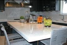 Kitchen countertops / Seitanidis Marble & Granites countertops made of granite, quartz, marble