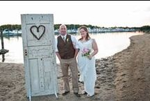 Weddings using materials from the Forklift / Please share before & after pictures of your wedding decorations and crafts, made from Community Forklift materials.