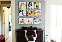wall art ideas / by Carrie Owens