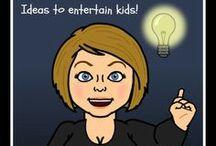 Ideas To Entertain Kids! / Stuff to occupy the children....