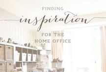 ideas for my home office / various ideas to organize and style my home office