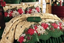 CHRISTMAS LINENS AND TOWELS, TABLES AND PILLOWS / Christmas from the linen closet!