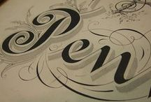 Calligraphy I fancy! / calligraphy, invitations, lettering, fonts, flourishing, graphics, logos, gilding, etc. / by Margo Nahas