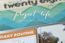 memory keeping | project life