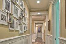 ideas for hallways / by Carrie Owens