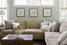 ideas for family room / by Carrie Owens