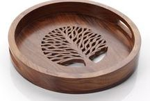 A Natural Kitchen / #FairTrade serving and kitchen items / by Serrv International