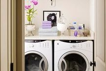 ideas for the laundry room / by Carrie Owens
