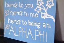 Alpha Phi / by Crystal Leinbach