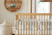 Kids | Baby Neutral Nursery / Ideas for creating a beautiful natural nursery space in neutral colour scheme.