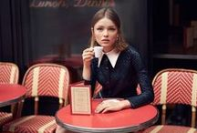 Parisian Chic / French street style / by vogue and coffee