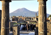 """Pompeii Ruins ( just 1 km from the B&B) / #pompei #pompeii #faunopompei #archeology #ruins #history #vesuvius #herculaneum #art #excursions #travel #italy #pompeiiruins #ancient #vesuvio #scavidipompei Pompeii is the most famous archaeological site in the world, only 1 km from bed and breakfast """"Il Fauno"""".  / by B&B Pompei Il Fauno"""