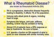☤ rheumatoid.arthritis ☤ / rheumatoid autoimmune disease ~ the bane of my existence / by ~betty~