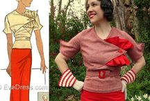 Vintage Sewing / Vintage sewing patterns, and ideas. / by Jess Adams