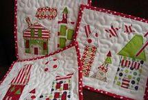 sewing christmas