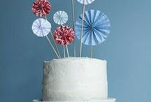Cakes and Toppers / Easy cake decor / by Sharron Cooper*